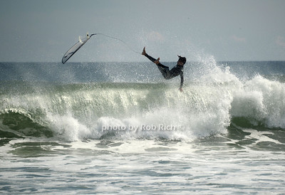 Surfing at the beach in  Ditch Plains in Montauk on September 16, 2012. photo credit: Rob Ricch\SocietyAllure.com