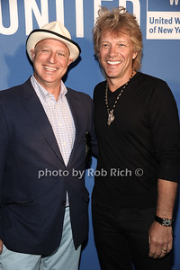 Tom Colicchio and Jon Bon Jovi attend the United Way's fundraiser at the Southampton residence of Avis and Bruce Richards. (August 25, 2012) photo credit: Rob Rich/SocietyAllure.com