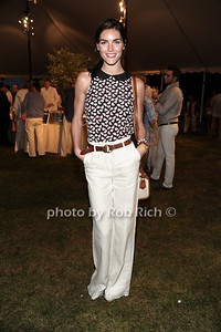 Fashion Model Hilary Rhoda attends  the United Way's fundraiser at the Southampton residence of Avis and Bruce Richards. (August 25, 2012) photo credit: Rob Rich/SocietyAllure.com