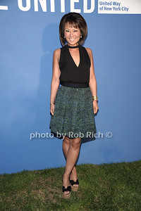 Alina Cho attends the United Way's fundraiser at the Southampton residence of Avis and Bruce Richards. (August 25, 2012) photo credit: Rob Rich/SocietyAllure.com