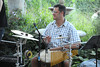 Percussionist from INDA performing at the Wolffer Estate Vineyard'sTwilight Thursday in Sagaponack. (August 9, 2012)<br /> photo credit:Rob Rich/SocietyAllure.com