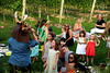 Children ejoy a performer from A Midsummers Night Dream at the Wolffer Estate Vineyard'sTwilight Thursday in Sagaponack. (August 9, 2012)<br /> photo credit:Rob Rich/SocietyAllure.com