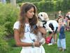 McKenzie Klager and Cooper at the Wolffer Estate Vineyard'sTwilight Thursday in Sagaponack. (August 9, 2012)<br /> photo credit:Rob Rich/SocietyAllure.com
