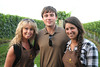 Laura Romano, Blake Bennett and Sarah Gioscia<br /> at the Wolffer Estate Vineyard'sTwilight Thursday in Sagaponack. (August 9, 2012)<br /> photo credit:Rob Rich/SocietyAllure.com