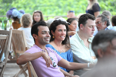 Enjoying the sounds of INDA at the Wolffer Estate Vineyard'sTwilight Thursday in Sagaponack. (August 9, 2012) photo credit:Rob Rich/SocietyAllure.com