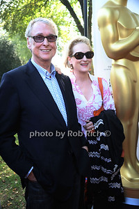 Mike Nichols and Meryl Streep attend the tribute Ann Roth at the HIFF at Guild Hall in East Hampton. photo credit: Rob Rich/SocietyAllure.com