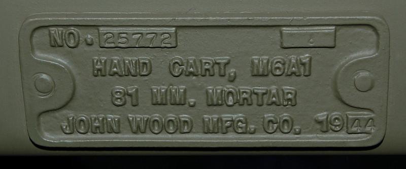 JOHN WOOD M6A1 1943 #25772 1943