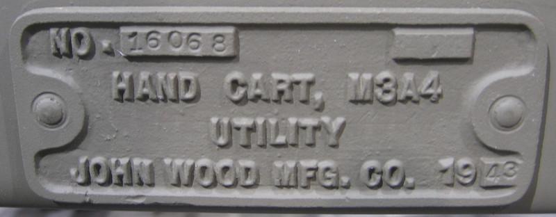 JOHN WOOD MFG. M3A4 #16068 1943