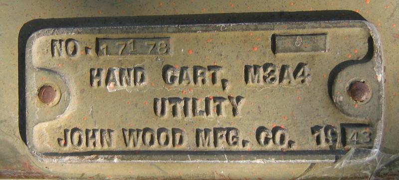 JOHN WOOD MFG. M3A4  #17178 1943