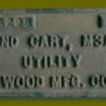 JOHN WOOD MFG. M3A4  #21295 1943