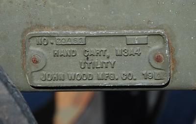 JOHN WOOD MFG. M3A4 #30461 1944