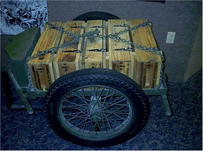 M1A1 CHEMICAL MORTAR & AMMO CART (5)