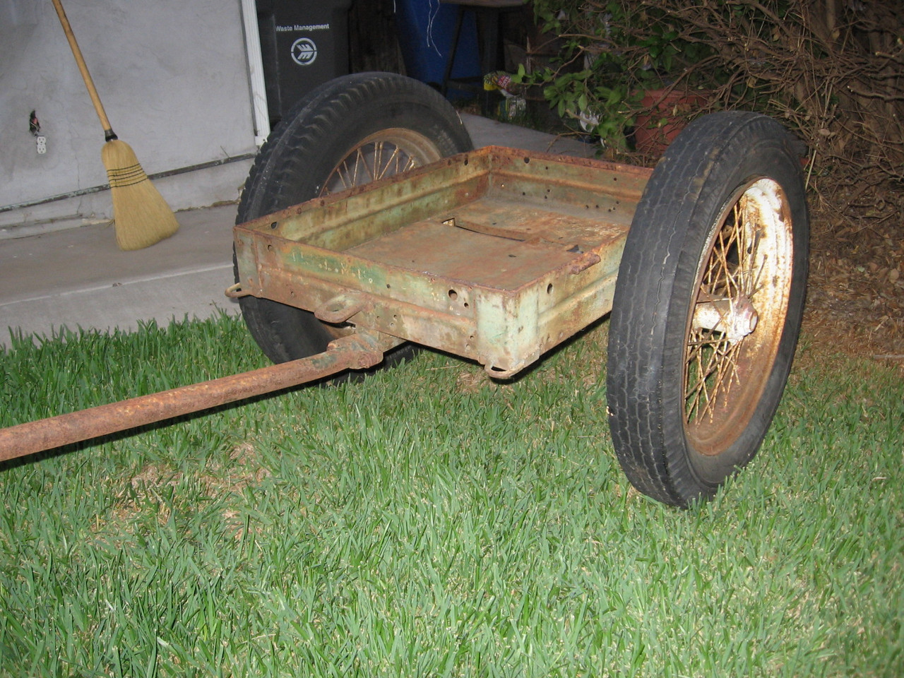 Model 42 Marine Corp Cart<br /> <br /> Dylan Stocker Collection