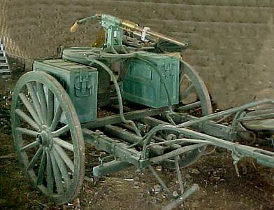MODEL OF 1917 MACHINE GUN CART #102180