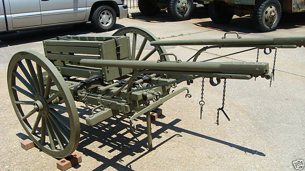 MODEL OF 1917 MACHINE GUN CART #103950