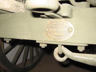 MODEL OF 1917 MACHINE GUN CART #103043