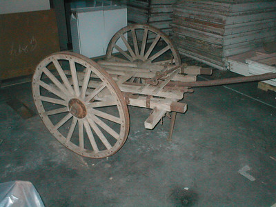 MODEL OF 1917 MACHINE GUN CART #302038
