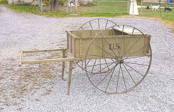 QUARTERMASTER WOOD HAND CART