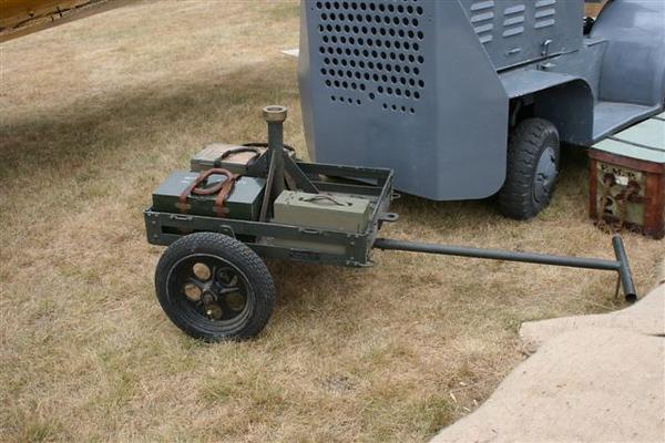 ROCK ISLAND ARSENAL M4A1 CAL. 30 MACH. GUN CART #4597 1940