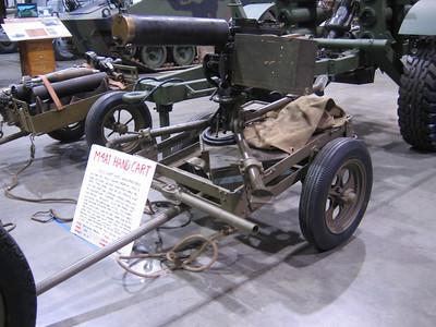 ROCK ISLAND ARSENAL M4A1 CAL. 30 MACH. GUN CART #3816 1940