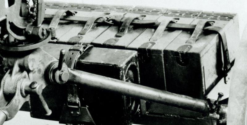 ROCK ISLAND ARSENAL<br /> 638-38210 JUNE 20, 1930<br /> MOUNT,  WHEELED, MACHINE<br /> GUN, M1.