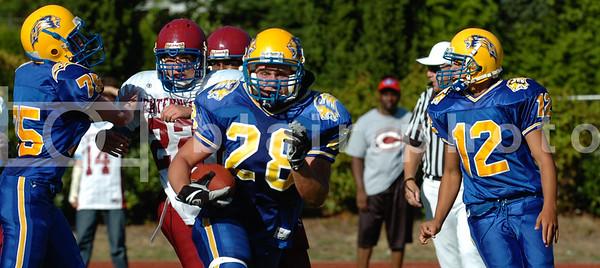 Handsworth Jr's vs Centennial 2007