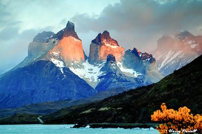 Los Cuernos (the horns), Torres del Paine, Chile