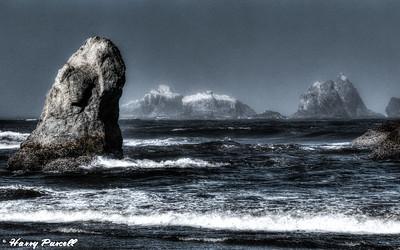 stormy coast, Banyon, Oregon