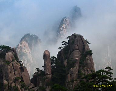the Yellow Mts, China