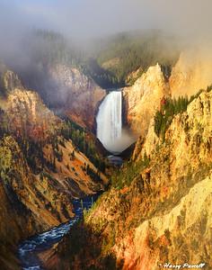 Lower Falls, Yellowstone, Wyoming