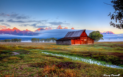 Moulton Barn, near the Grand Tetons, Wyoming