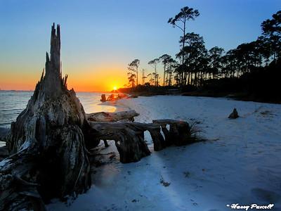 sunset Gulf Islands Natl. Seashore, Gulf Breeze, Florida