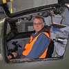 Warwick looking a little startled in the cockpit of HARS' F-111C A8-109, the last RAAF F-111 to take off and the last to shut down,.