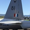 The tail of ex RAAF Neptune A89-281 at Albion Park.