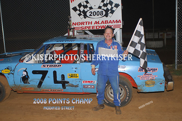 2008 NORTH ALA SPEEDWAY POINTS CHAMPS!!