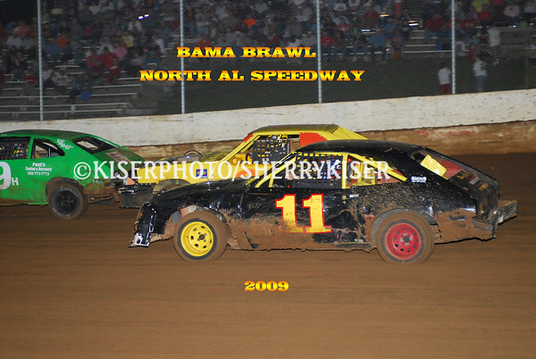 9/6/2009  BAMA BRAWL-BAMA SUPER SERIES  $5000.00
