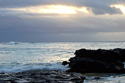 Cloudy Sunrise, Oahu