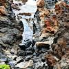 Lava Rock along the south coast of S. Kihei, Maui Hawaii