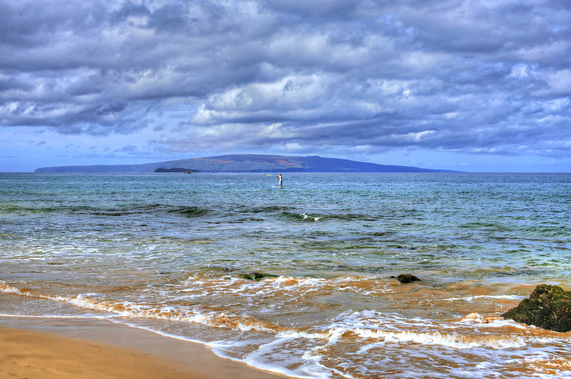Shooting from Waile-Makena looking out to  Kahoolawe Island
