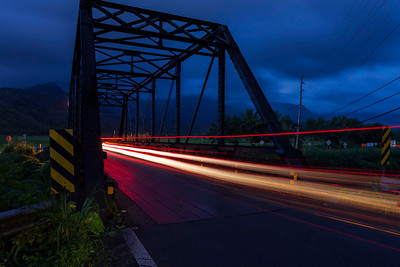 Hanalei Bridge at Dawn