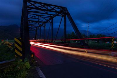 Hanalei Bridge at Dawn