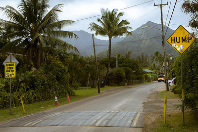 "Kauai has ""humps"" not ""bumps"" or ""calming strips"""