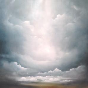 """Haxton, 40""""x40"""" oil on canvas"""