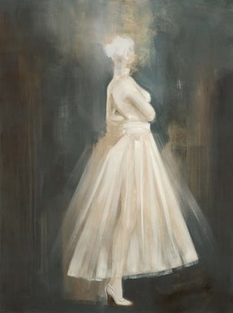 Posed with White I-Haxton, 30x40 on canvas