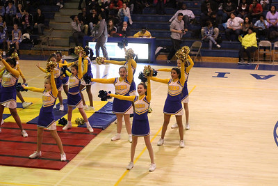 Cheerleaders Basketball Championships