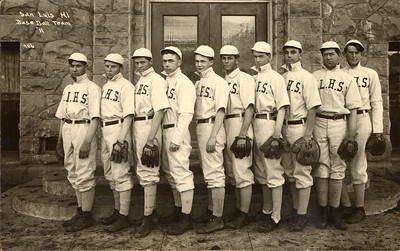 San Luis Obispo High School 1911 Baseball team. #1951.001.088.