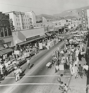 San Luis Obispo Dollar Days, c. 1960. #01.01.1233