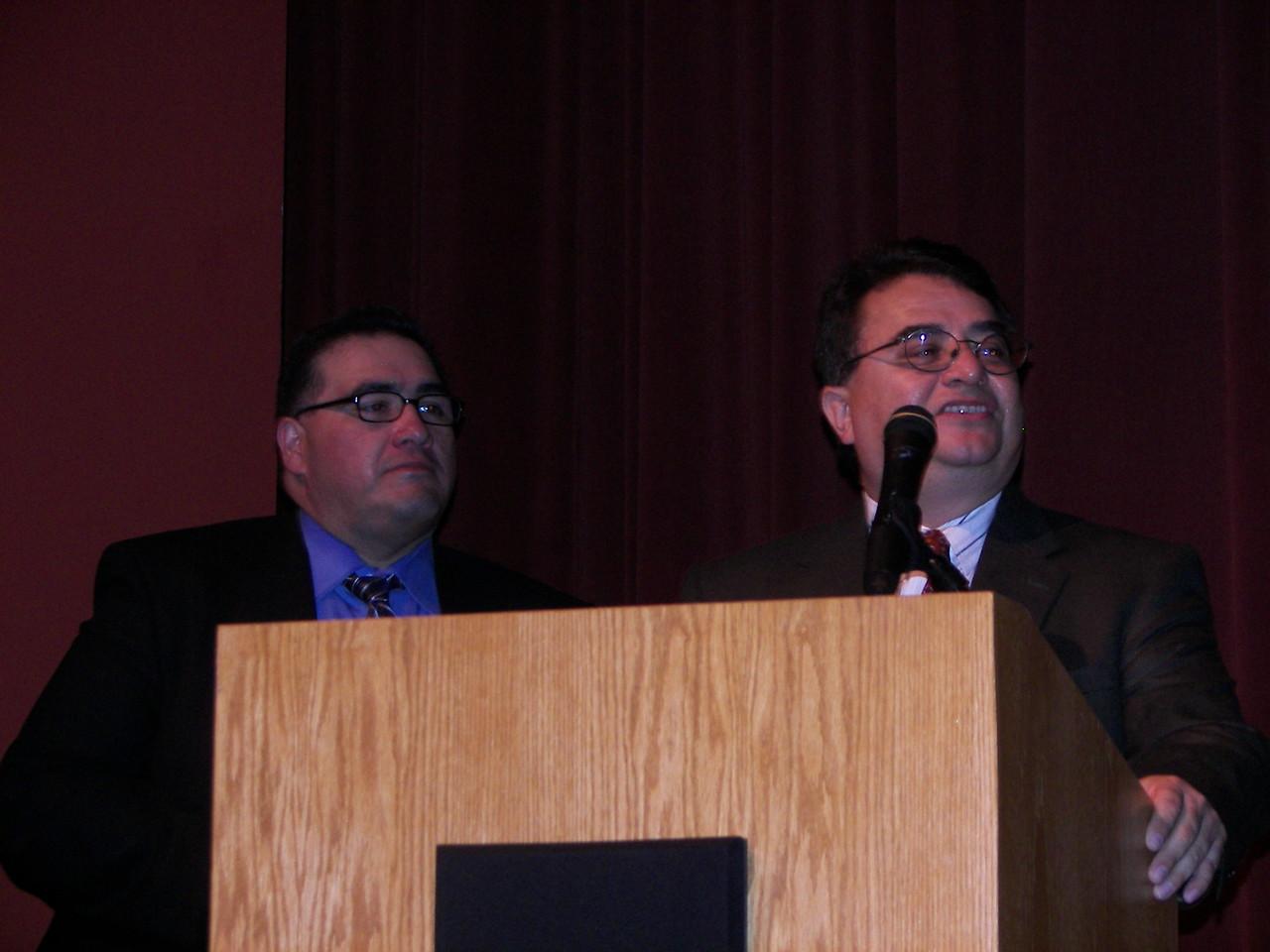 John H. Martinez-D. and Chris Escobedo
