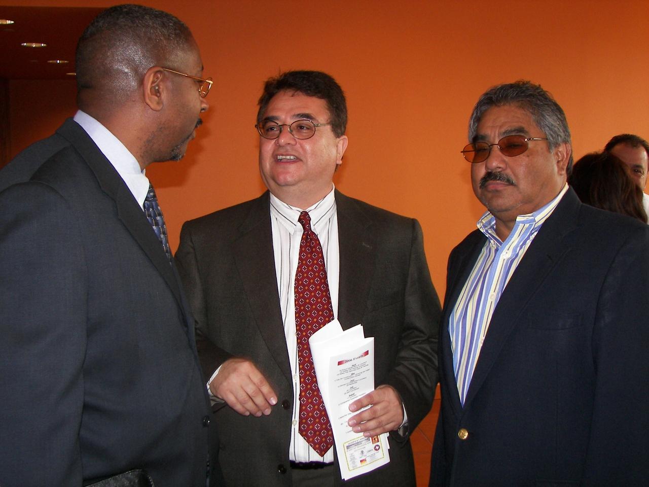Hopeton Hay, UT System, Chris Escobedo and Felix Galan, DFW Airport