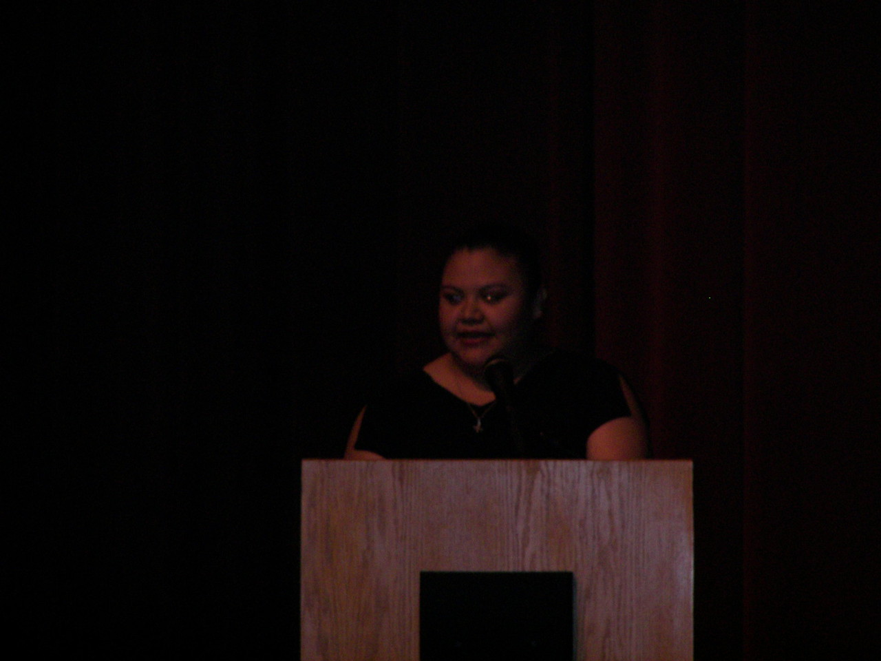 Elizabeth Chavez, Ponce Contractors addresses the HCADFW membership
